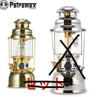 ペトロマックス(Petromax)のペトロマックス HK500 ニッケル ブラス セット(ライト/ランタン)