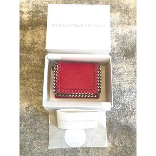 Stella McCartney - ステラ チェーン 財布 三つ折り ピンク