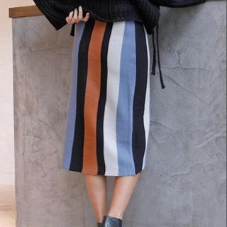 ルームサンマルロクコンテンポラリー(room306 CONTEMPORARY)のroom306 ニットスカート(ひざ丈スカート)