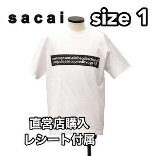 サカイ(sacai)の2020FW sacai Graphic T-Shirt White Size1(Tシャツ/カットソー(半袖/袖なし))