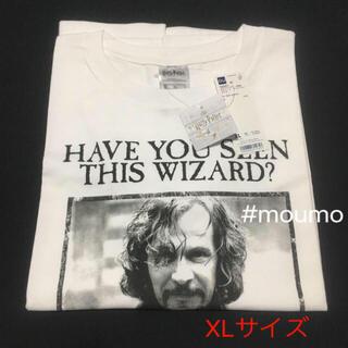 ジーユー(GU)の●値下不可●GU×Harry Potter レディースTシャツホワイト×ブラック(Tシャツ(半袖/袖なし))