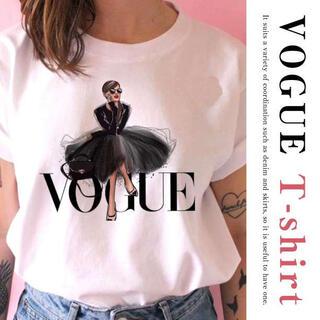 人気 VOGUE Tシャツ バルーンスカート