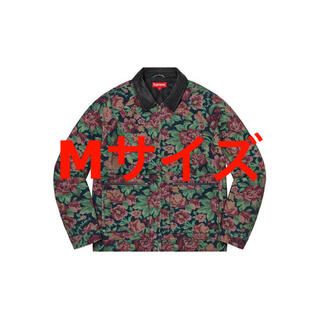 シュプリーム(Supreme)のleather collar work jacket digi floral(ブルゾン)