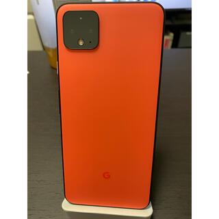 アンドロイド(ANDROID)のPixel4 XL 64GB[Oh So Orange]SIMロック解除済(スマートフォン本体)