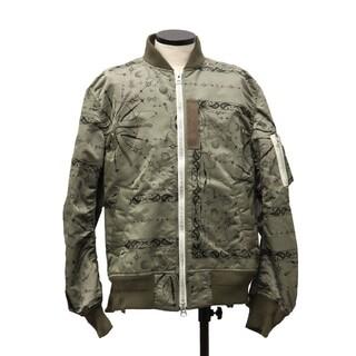 sacai - サイズ2 新品 完売品 sacai dr.woo ma-1 ジャケット