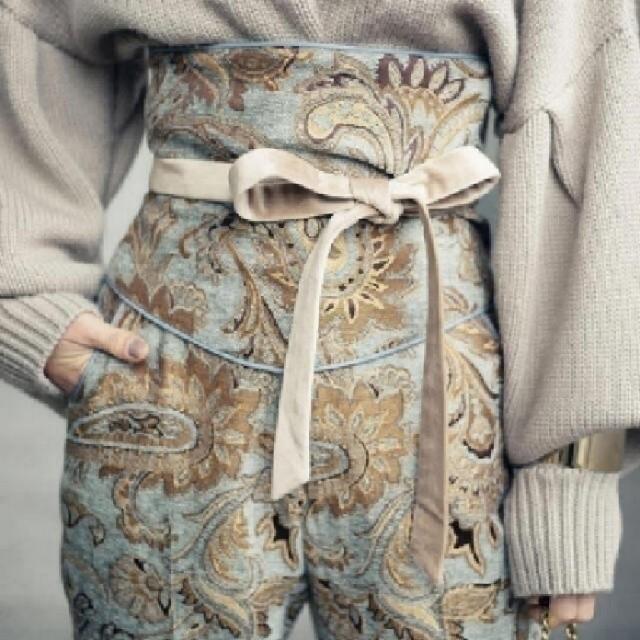 Ameri VINTAGE(アメリヴィンテージ)のAmeri【タグ付新品】ペイズリー ラグ パンツ レディースのパンツ(カジュアルパンツ)の商品写真