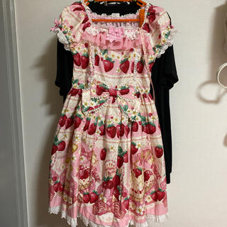 Angelic Pretty - Strawberry Whip ワンピース