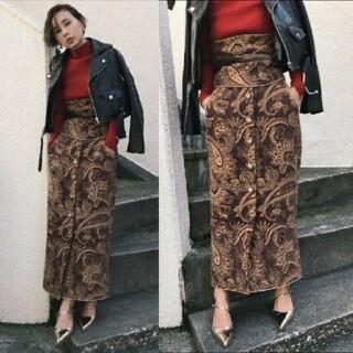 Ameri VINTAGE - Ameri 未使用 大人気完売♥ペイズリーロングスカート