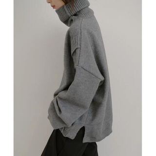 SUNSEA - [新品] turtleneck layered knit   #No.19