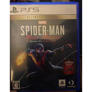 マーベル(MARVEL)のps5版 スパイダーマン マイルズモラレス(家庭用ゲームソフト)