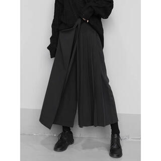 Yohji Yamamoto - [新品] layered hakama pants   #No.20