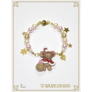 ベイビーザスターズシャインブライト(BABY,THE STARS SHINE BRIGHT)のくみゃちゃんのクリスマスブレスレット(ブレスレット/バングル)