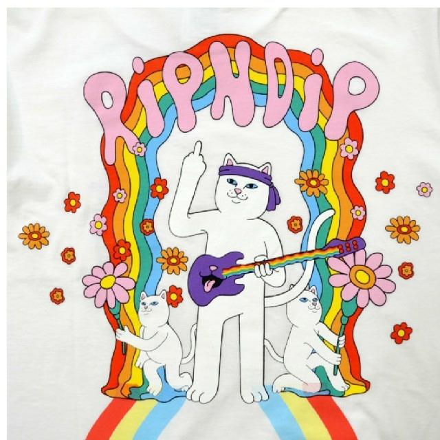 リップンディップ GROOVY NERM TEE メンズのトップス(Tシャツ/カットソー(半袖/袖なし))の商品写真
