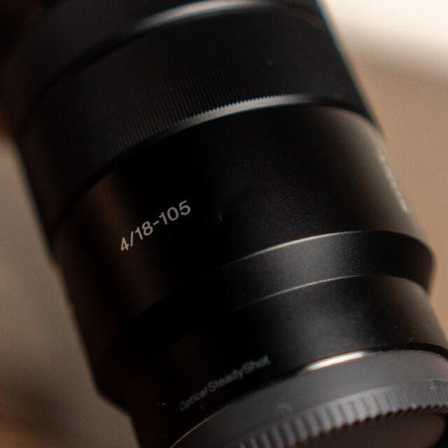 SONY(ソニー)のSONY E PZ18-105F4 G OSS スマホ/家電/カメラのカメラ(レンズ(ズーム))の商品写真