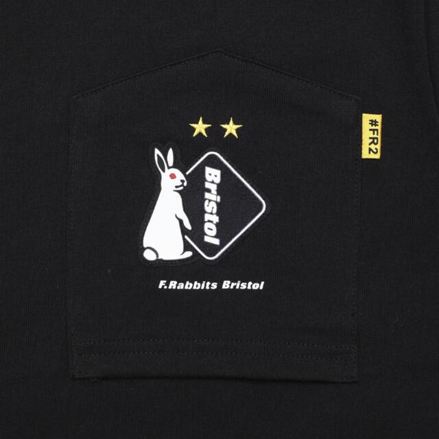 F.C.R.B.(エフシーアールビー)の即完品(新品未使用)FR2×F.C.Real Bristol  Tシャツ 黒  メンズのトップス(Tシャツ/カットソー(半袖/袖なし))の商品写真