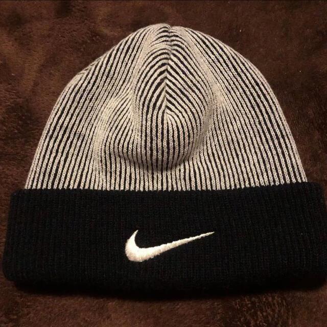 NIKE(ナイキ)の90s nike ビーニー ニットキャップ 帽子 supreme acg usa メンズの帽子(ニット帽/ビーニー)の商品写真