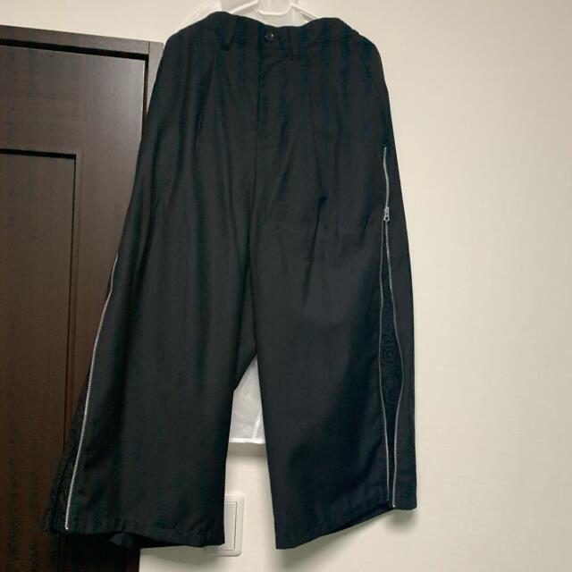 MILKBOY(ミルクボーイ)のCivarize Clarityマチ付きZIPワイドパンツ メンズのパンツ(その他)の商品写真