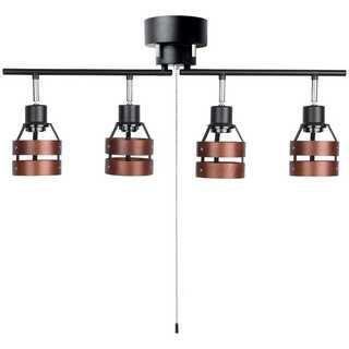 シーリングライト スポットライト 4灯 折りたたみ式 照明器具 天井照明