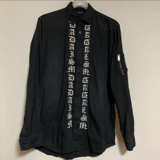 CHRISTIAN DADA - 17SS クリスチャン ダダ 刺繍 シャツ