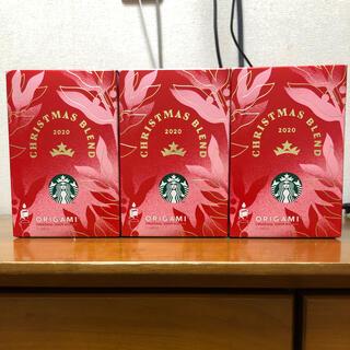 Starbucks Coffee - スタバ コーヒー オリガミ 3個セット