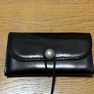 goro's - ゴローズ 三つ折り財布 ブラック