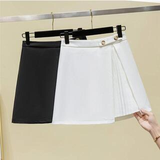 【大きいサイズ レディース】秋冬 ミニスカート (ミニスカート)