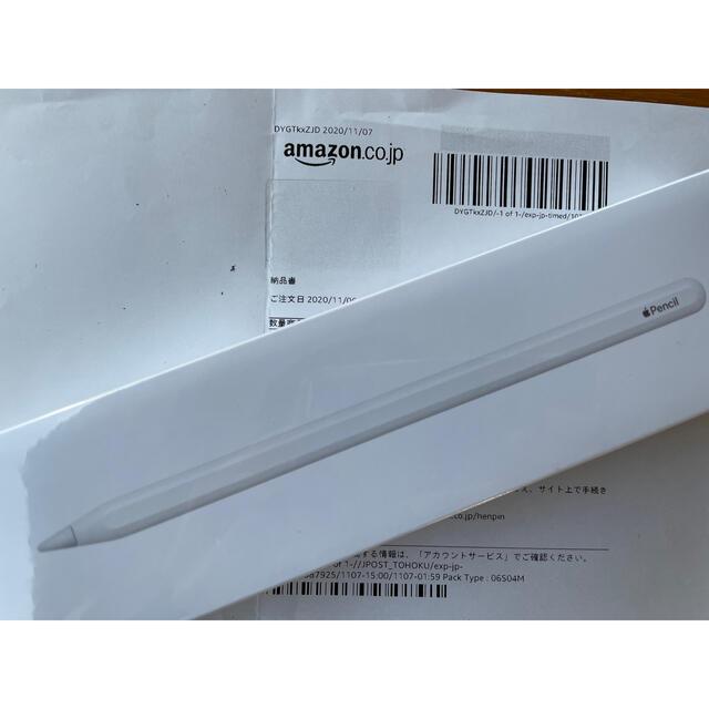 Apple(アップル)の[新品未開封] Apple Pencil 第2世代 スマホ/家電/カメラのPC/タブレット(タブレット)の商品写真
