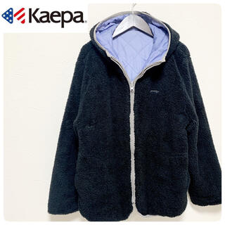 Kaepa - kaepa ケイパ レディース リバーシブル モコモコ ジャンパー XL