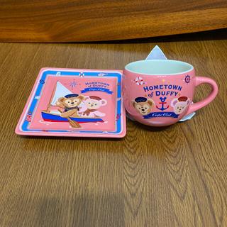 Disney - ダッフィー  スーベニアプレートとカップ