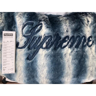 Supreme - Supreme Faux Fur Reversible Jacket L