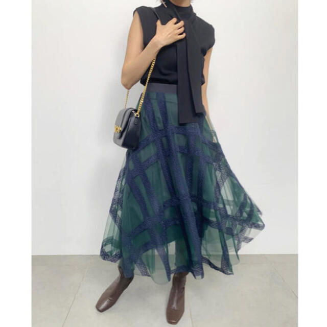 snidel(スナイデル)の【正規品】snidel 新品未使用タグ付き チェックスカート レディースのスカート(ロングスカート)の商品写真