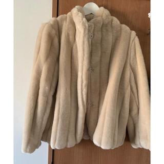 ロキエ(Lochie)のnugu エコファージャケット(毛皮/ファーコート)