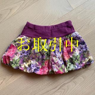 アナスイミニ(ANNA SUI mini)のアナスイミニ  バルーンパンツ かぼちゃパンツ 100 花柄(パンツ/スパッツ)