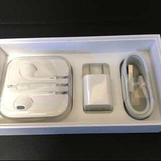 アイフォーン(iPhone)のiPhone 純正 イヤホン(イヤフォン) 充電器セット APPLE SONY(バッテリー/充電器)