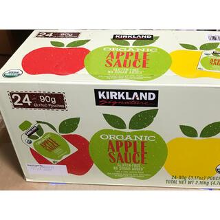 コストコ 有機アップルソース 12袋 オーガニック 離乳食にも