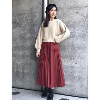 Lily Brown - リリーブラウン プリーツスカート