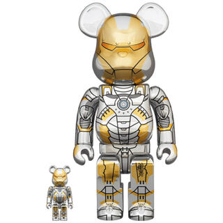 MEDICOM TOY - BE@RBRICK SORAYAMA IRONMAN 100% & 400%