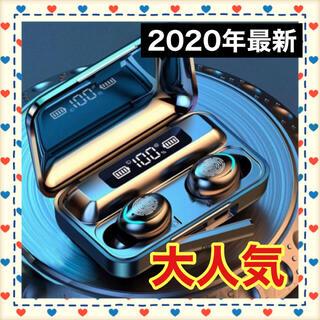 最新 ワイヤレスイヤホン Bluetooth 高音質 モバイルバッテリー