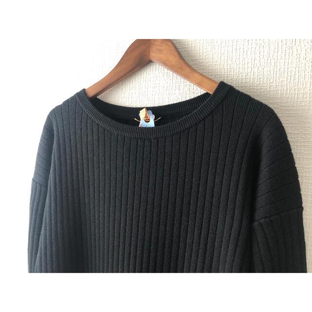 L'Appartement DEUXIEME CLASSE(アパルトモンドゥーズィエムクラス)のL'Appartement Rib Knit ワンピース/ブラック レディースのワンピース(ロングワンピース/マキシワンピース)の商品写真