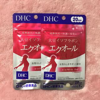 ディーエイチシー(DHC)のDHC エクオール  20日分 × 2袋(その他)