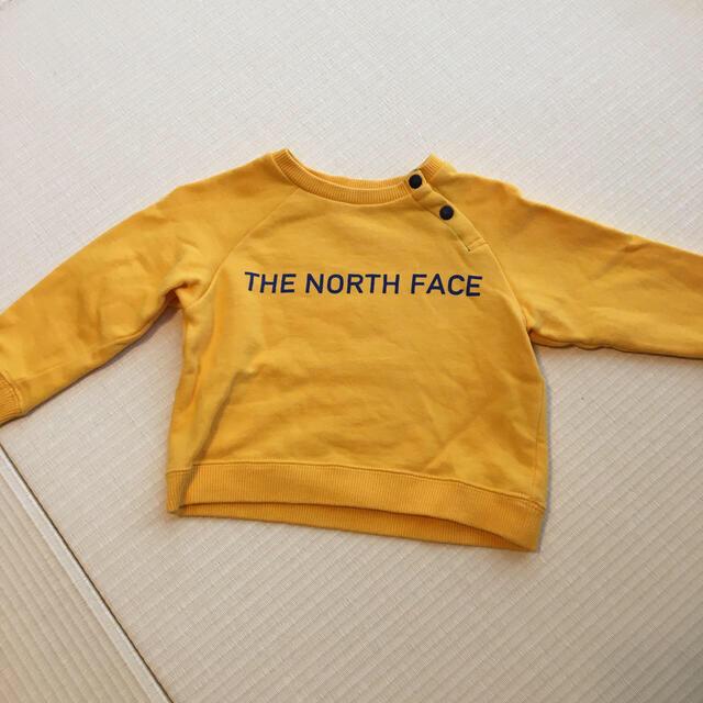 THE NORTH FACE(ザノースフェイス)のTHE NORTH FACE トレーナー80 キッズ/ベビー/マタニティのベビー服(~85cm)(トレーナー)の商品写真