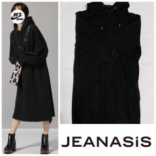 JEANASIS - ¥処分SALE JEANASIS long sweat onepiece