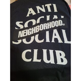 NEIGHBORHOOD - ANTI SOCIAL SOCIAL CLUB×NEIGHBORHOOD ロンT