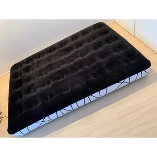 ヤマゼン(山善)の山善 エアベッド 電動 ダブル ダブルベッド(簡易ベッド/折りたたみベッド)