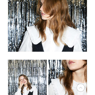 moussy - 1週間SALE♡moussy MOUSQUETAIRE COLLAR ブラウス
