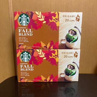 Starbucks Coffee - 新品 スターバックス オリガミ フォールブレンド 40個