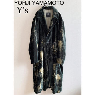 Yohji Yamamoto - 極希少 極美品 ヨウジヤマモト ワイズ 19ss ロングジャケット コート