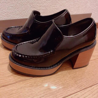 グレイル(GRL)のGRL 厚底ローファー(ローファー/革靴)