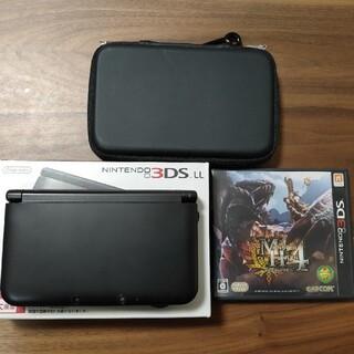 任天堂 - NINTENDO 3DS LL ブラック おまけ付き(ケース、ソフト)