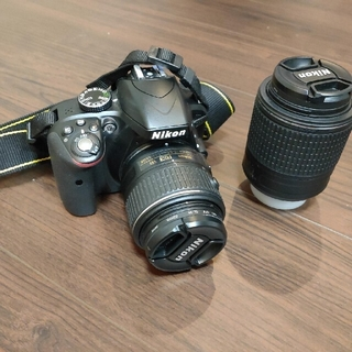 Nikon - Nikon D3300 レンズ2種類 おまけ付き(ケース、三脚)